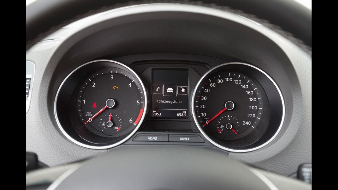 VW Polo 1.4 TDI Blue Motion, Rundinstrumente