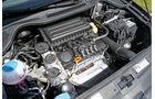 VW Polo 1.6 BiFuel, Motorraum, Motor