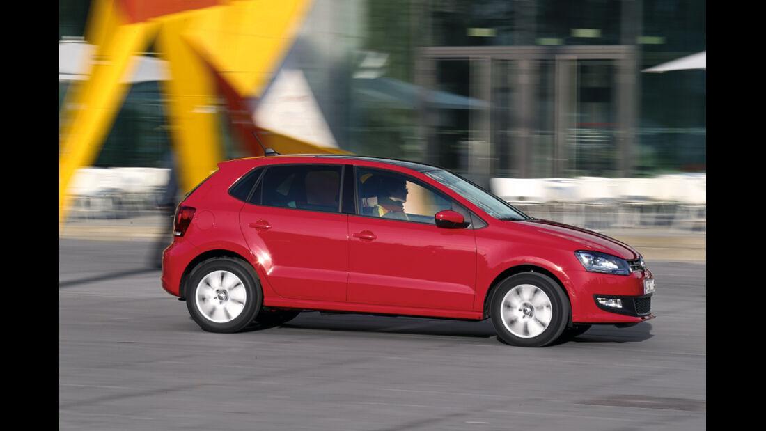 VW Polo 1.6 TDI BMT, Seitenansicht