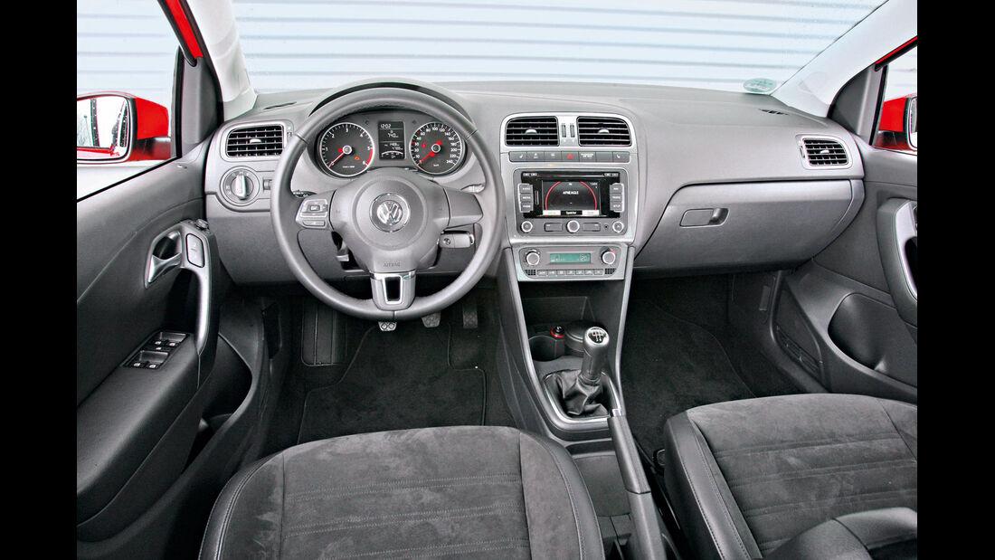 VW Polo 1.6 TDI Highline, Cockpit