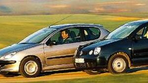 VW Polo 1.9 TDI, Peugeot 206 HDi éco 90