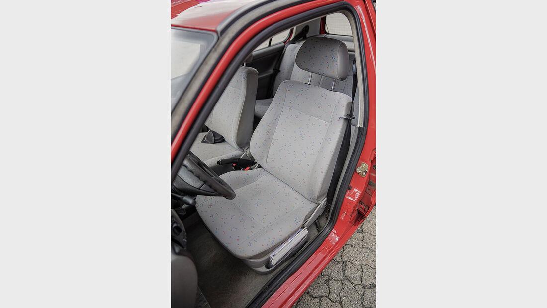 VW Polo 6N (1994-2001), Fahrersitz