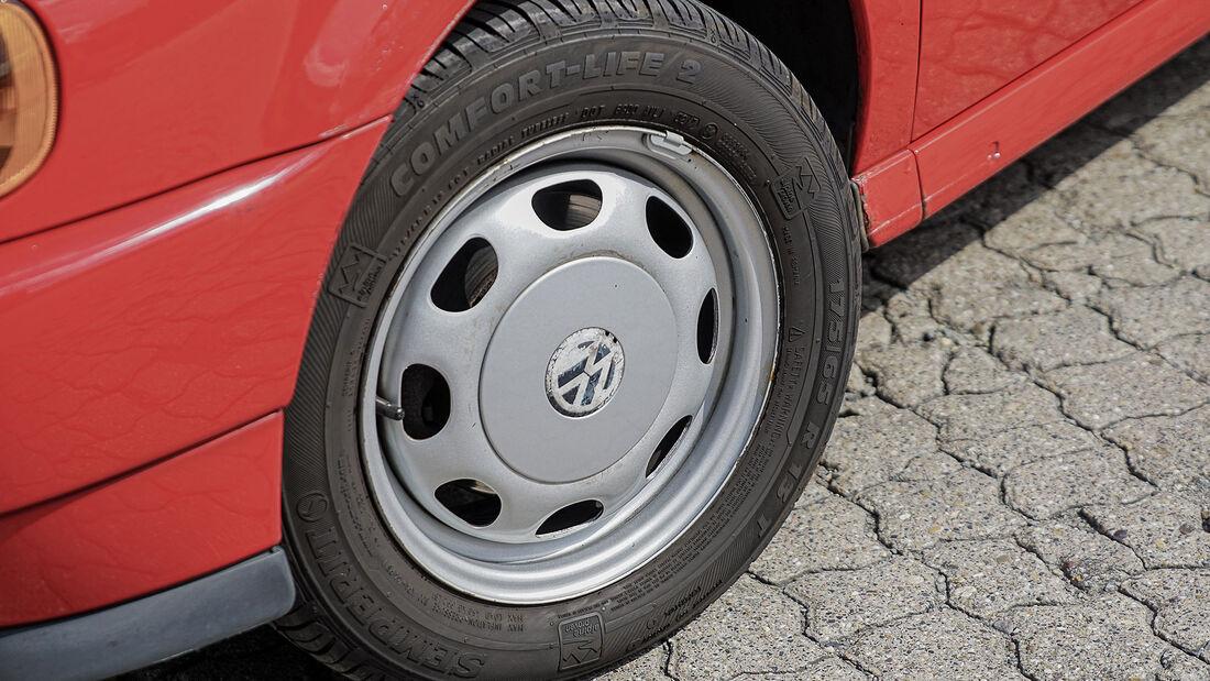 VW Polo 6N (1994-2001), Felge, Rad