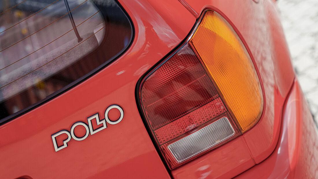 VW Polo 6N (1994-2001), Heck, Rücklicht