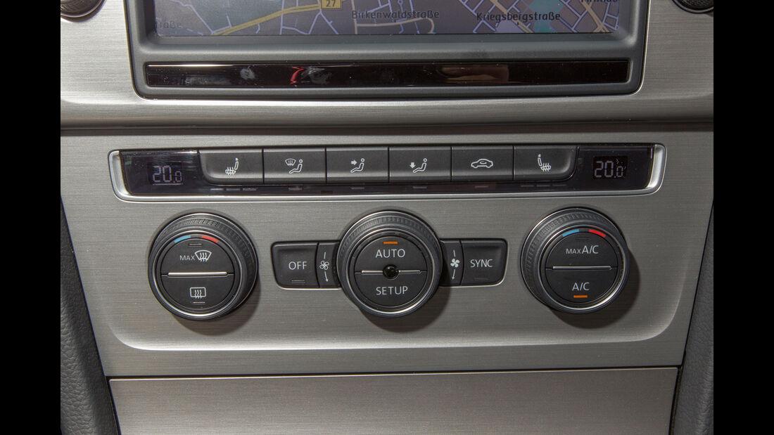 VW Polo, Bedienelemente