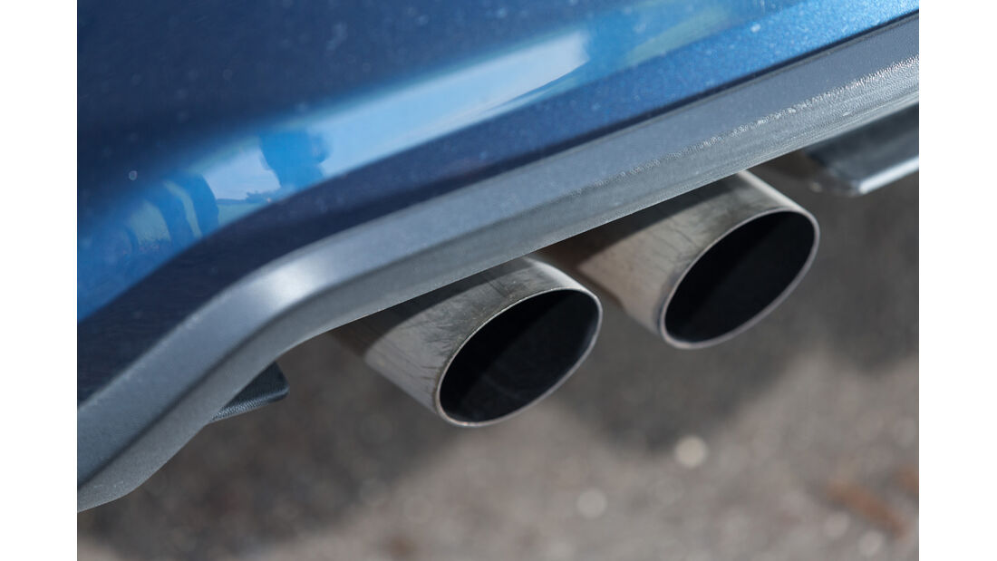 VW Polo Blue GT, Endrohre
