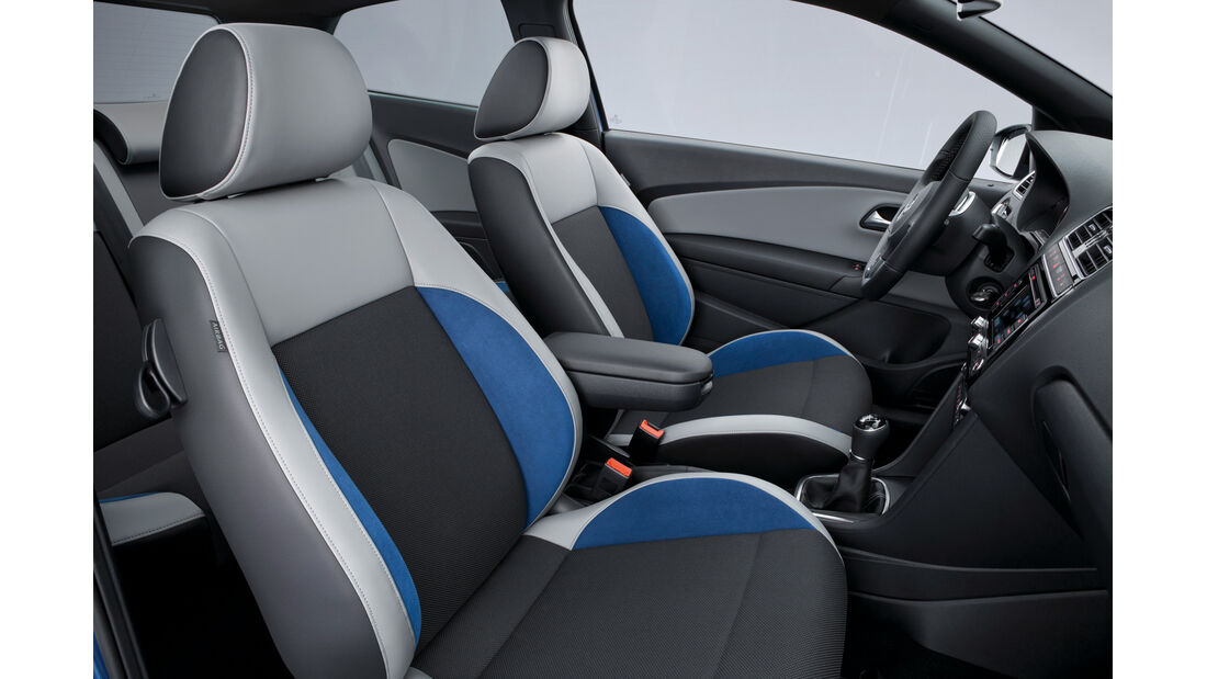VW Polo Blue GT, Fahrersitz, Innenraum