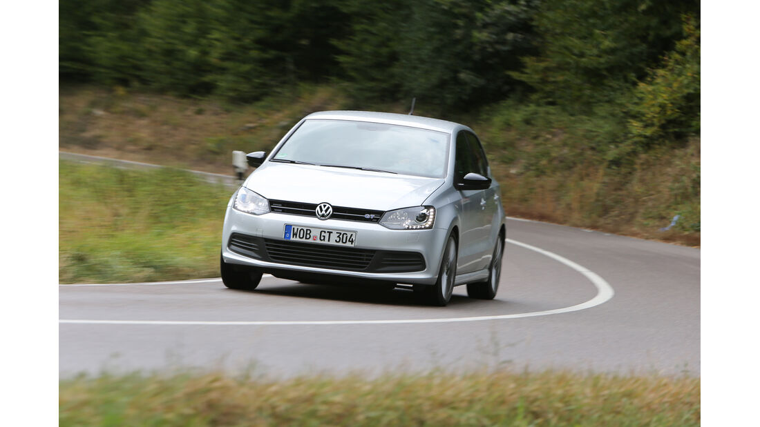 VW Polo Blue GT, Frontansicht