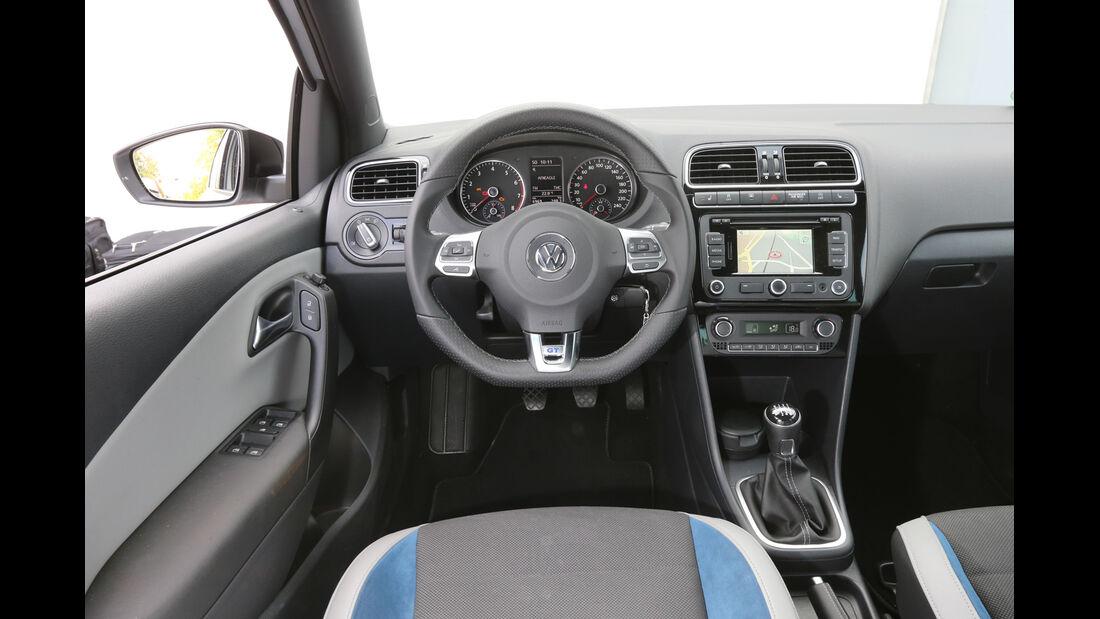 VW Polo Blue GT, Lenkrad, Cockpit