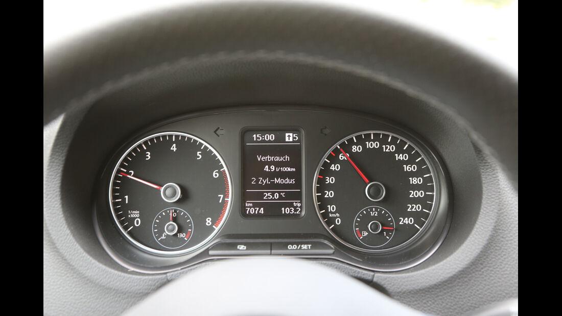 VW Polo Blue GT, Rundinstrumente
