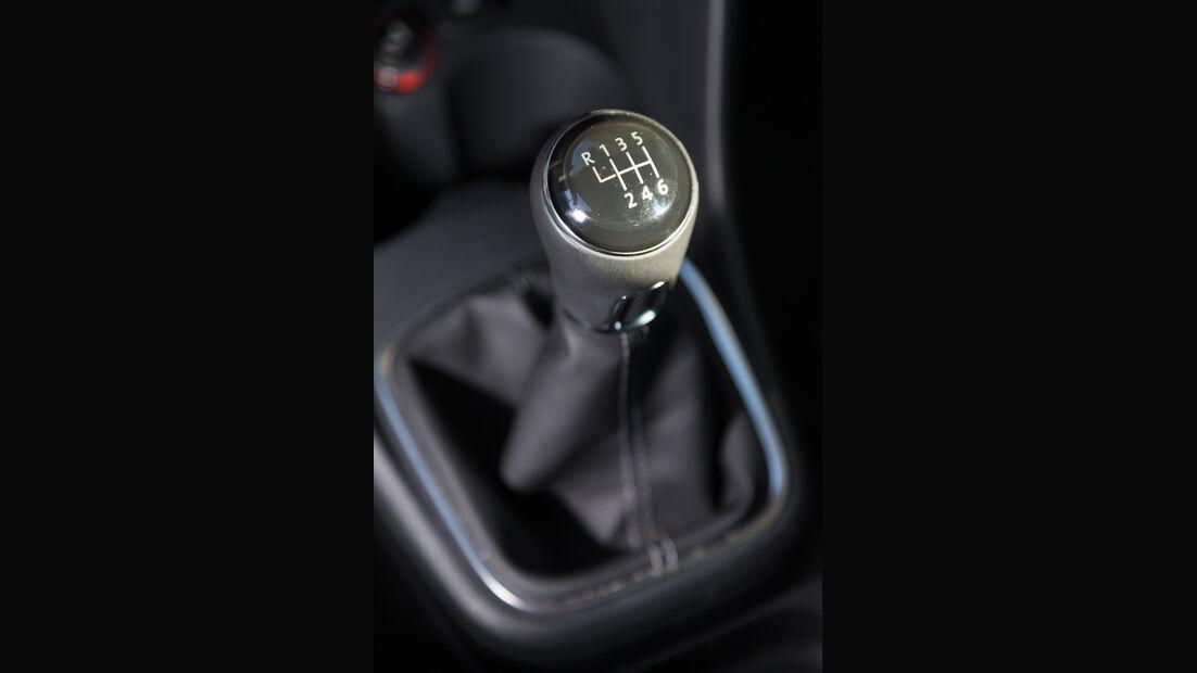 VW Polo Blue GT, Schalthebel