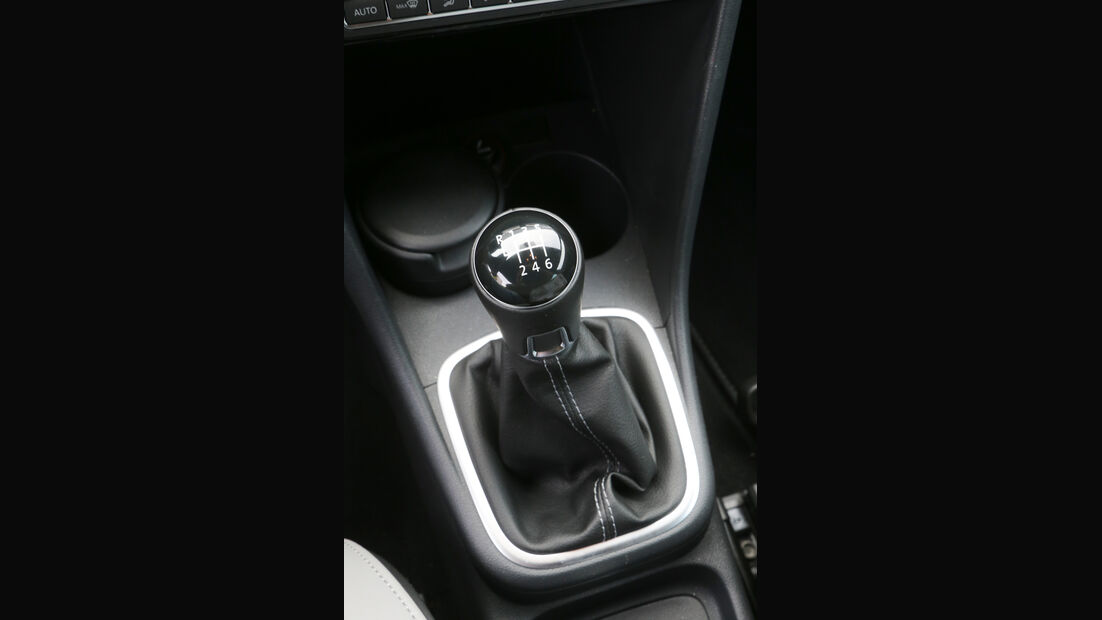 VW Polo Blue GT, Schalthebel, Schaltknauf