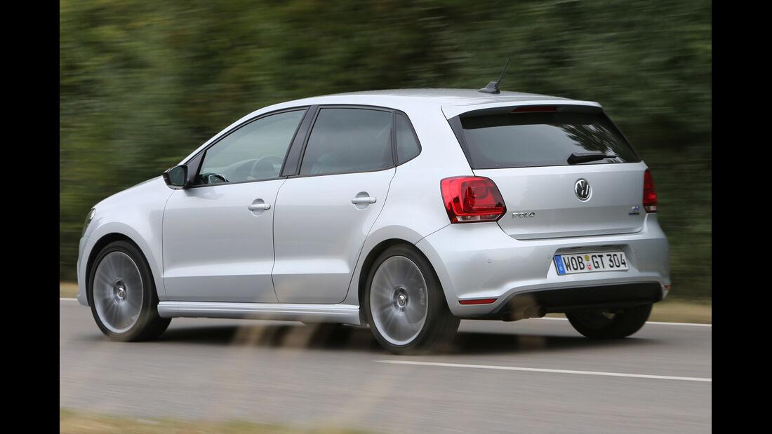 VW Polo Blue GT, Seitenansicht