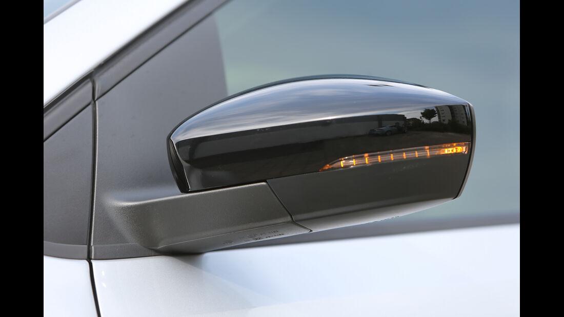 VW Polo Blue GT, Seitenspiegel