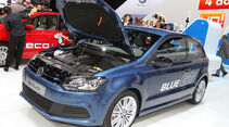 VW Polo Blue GTI Autosalon Genf 2012, Messe