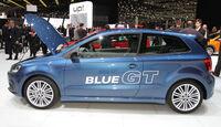 VW Polo Blue GTI Autosalon Genf 2012, Messe
