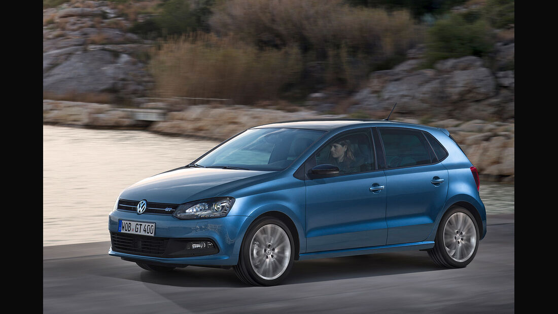 VW Polo BlueGT 2014, Sperrfrist 24.02.2014