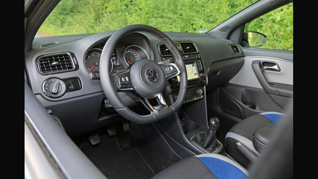 VW Polo BlueGT, Cockpit
