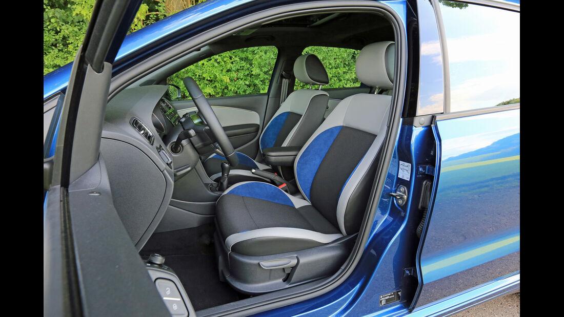 VW Polo BlueGT, Fahrersitz