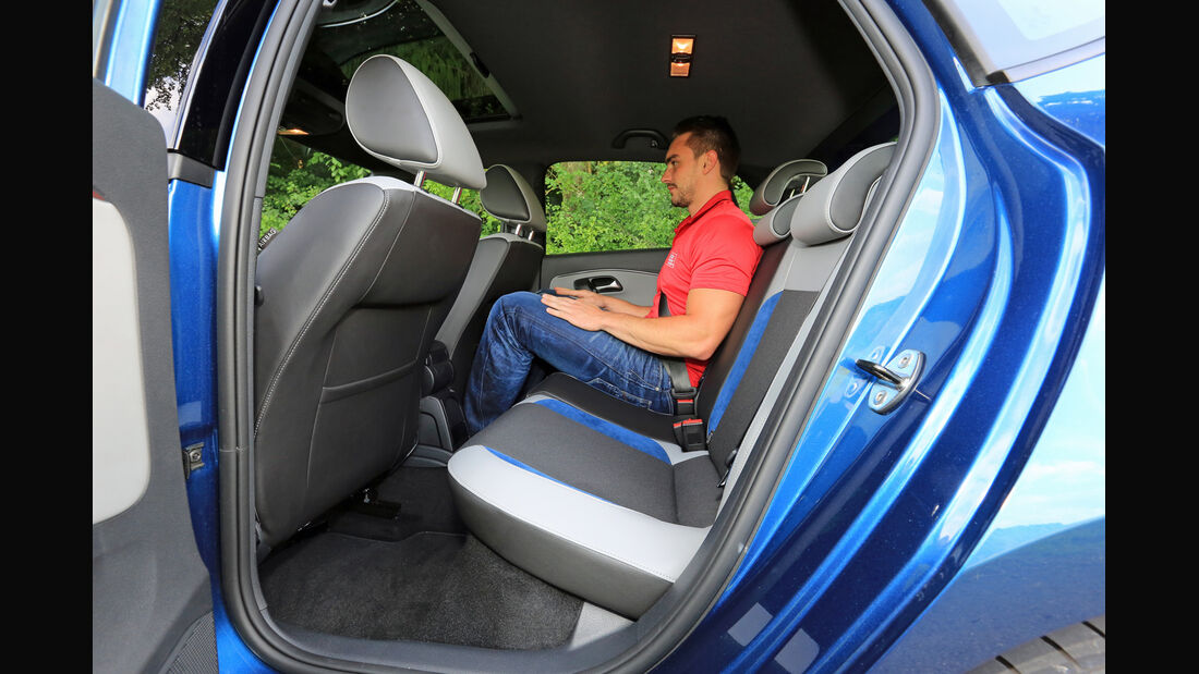 VW Polo BlueGT, Fondsitz
