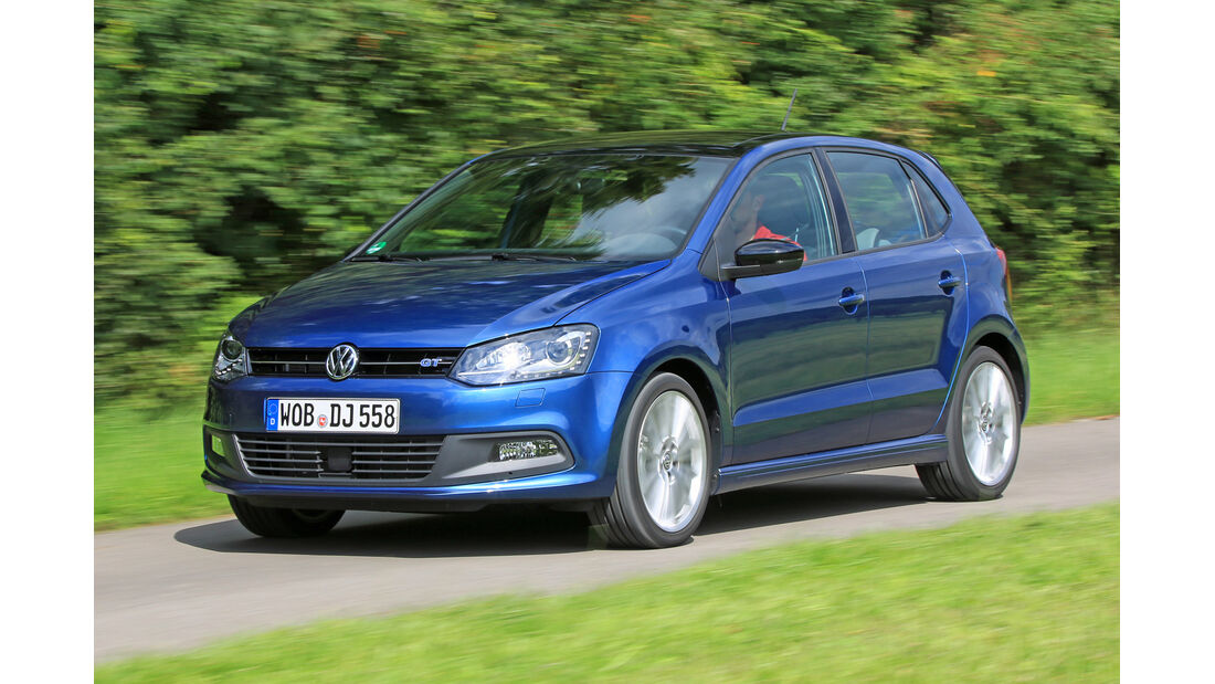 VW Polo BlueGT, Frontansicht