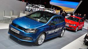 VW Polo BlueGT, Genfer Autosalon, Messe 2014