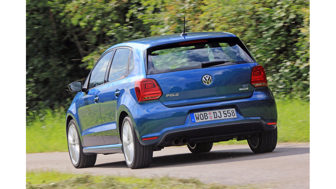 VW Polo BlueGT, Heckansicht