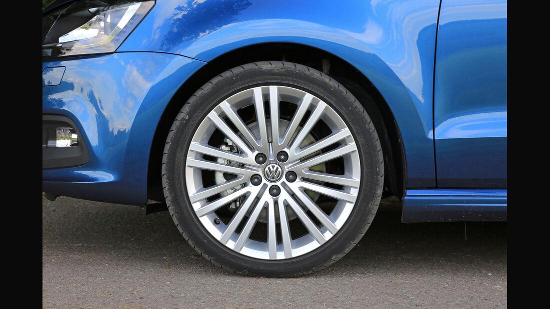 VW Polo BlueGT, Rad, Felge