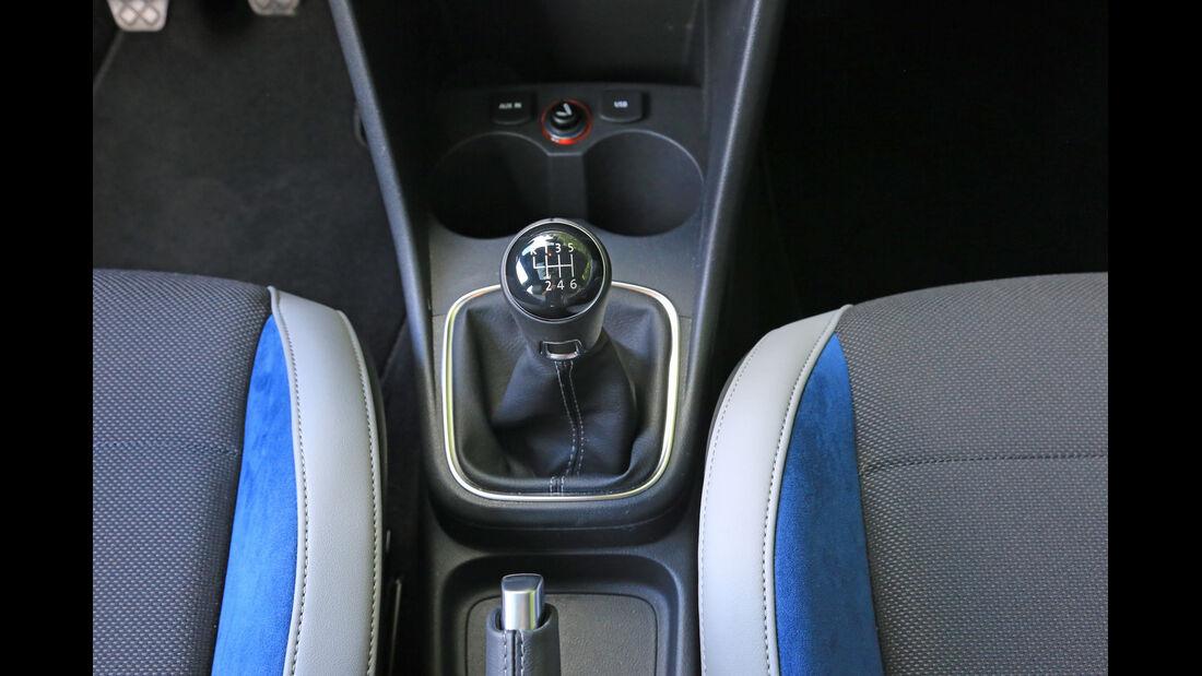 VW Polo BlueGT, Schalthebel
