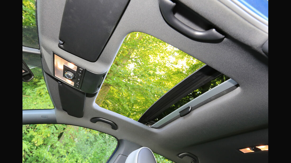 VW Polo BlueGT, Schiebedach