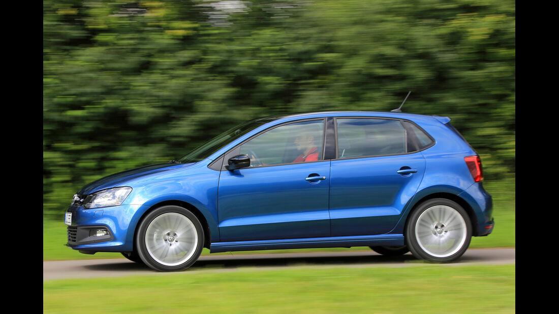 VW Polo BlueGT, Seitenansicht