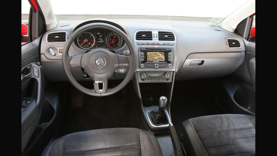 VW Polo, Cockpit, Innenraum
