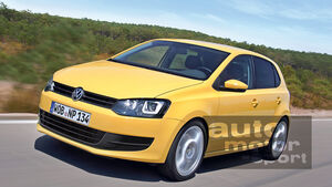 VW Polo Facelift 2014