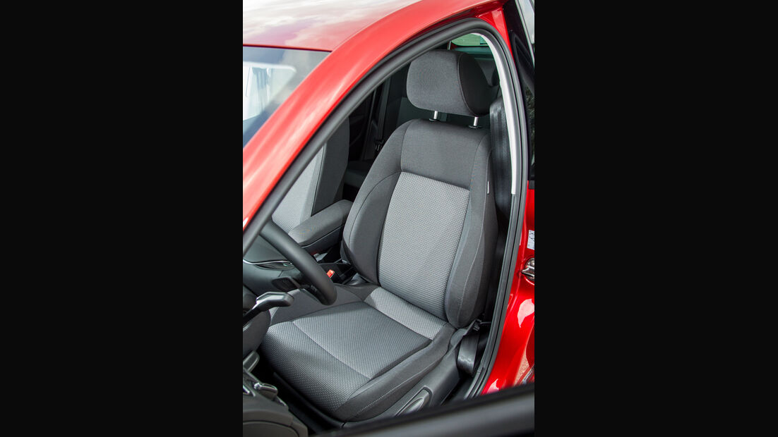 VW Polo, Fahrersitz
