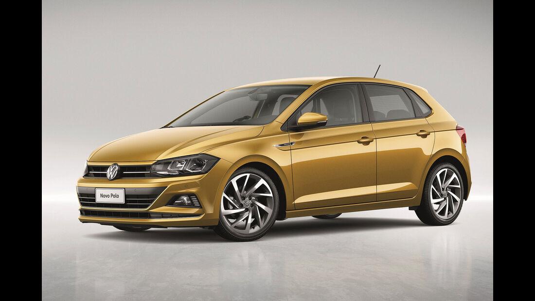 VW Polo Front Seite Standbild