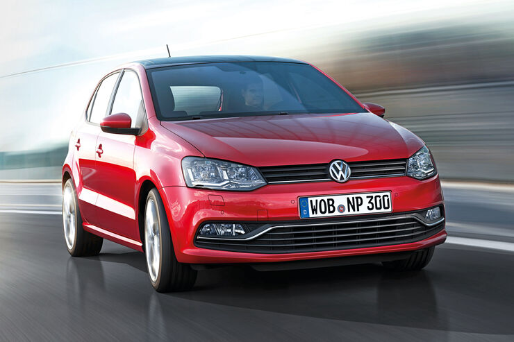 VW Polo, Frontansicht