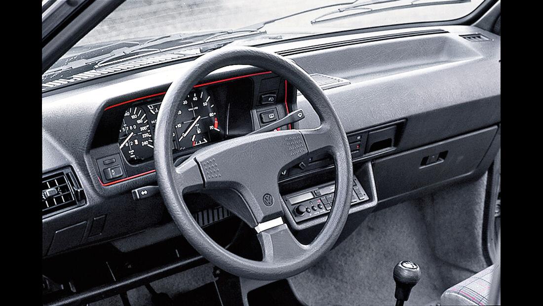 VW Polo G40, Cockpit