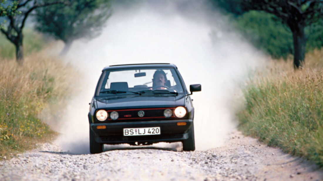VW Polo G40, Frontansicht