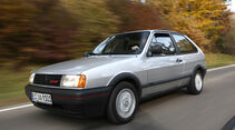 VW Polo G40 in fahrt - schräg von vorne
