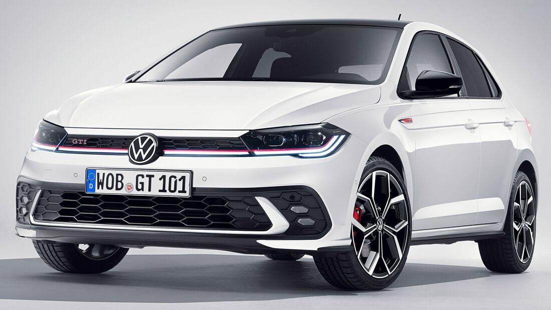 VW Polo GTI (2021) Polo 6 Typ AW Facelift Exterieur Pure White Uni