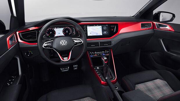 VW Polo GTI (2021) Polo 6 Typ AW Facelift Interior