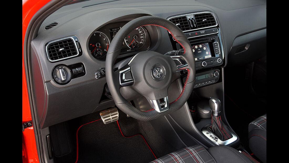 VW Polo GTI Cockpit
