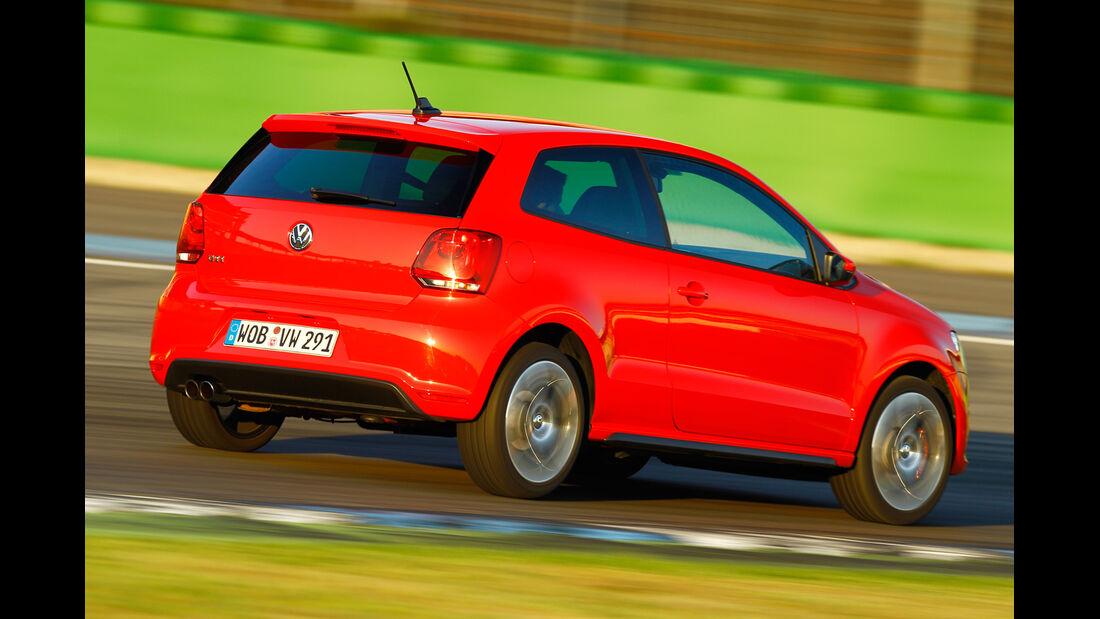 VW Polo GTI, Heckansicht