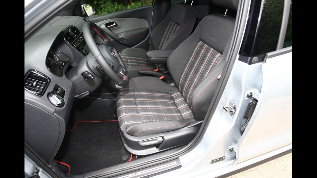 VW Polo GTI, Innenraum