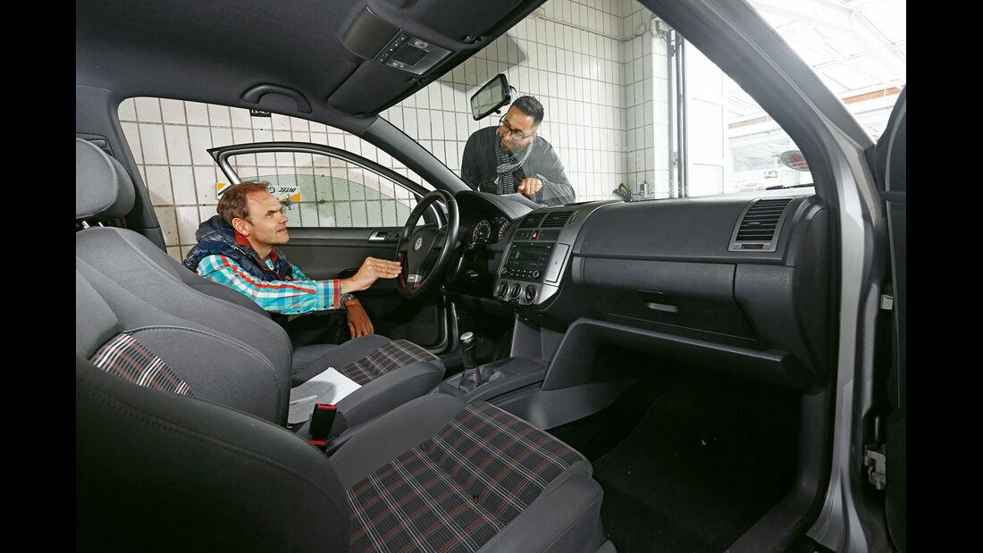 VW Polo GTI, Innenraum, Cockpit