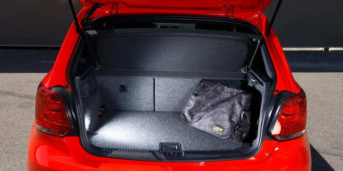 VW Polo GTI, Kofferraum