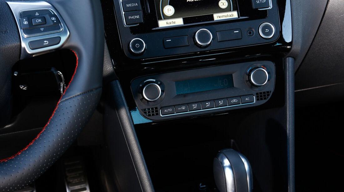 VW Polo GTI, Mittelkonsole