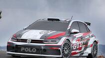 VW Polo GTI R5 Rallye Kundensport