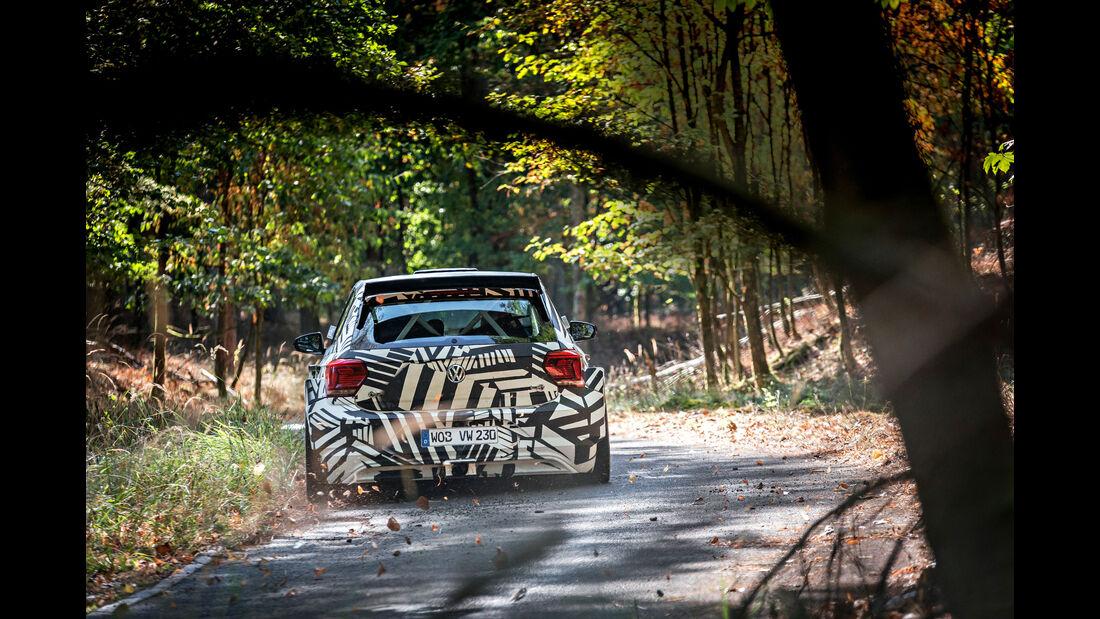 VW Polo GTI R5 - Rallye - sport auto 10/2018