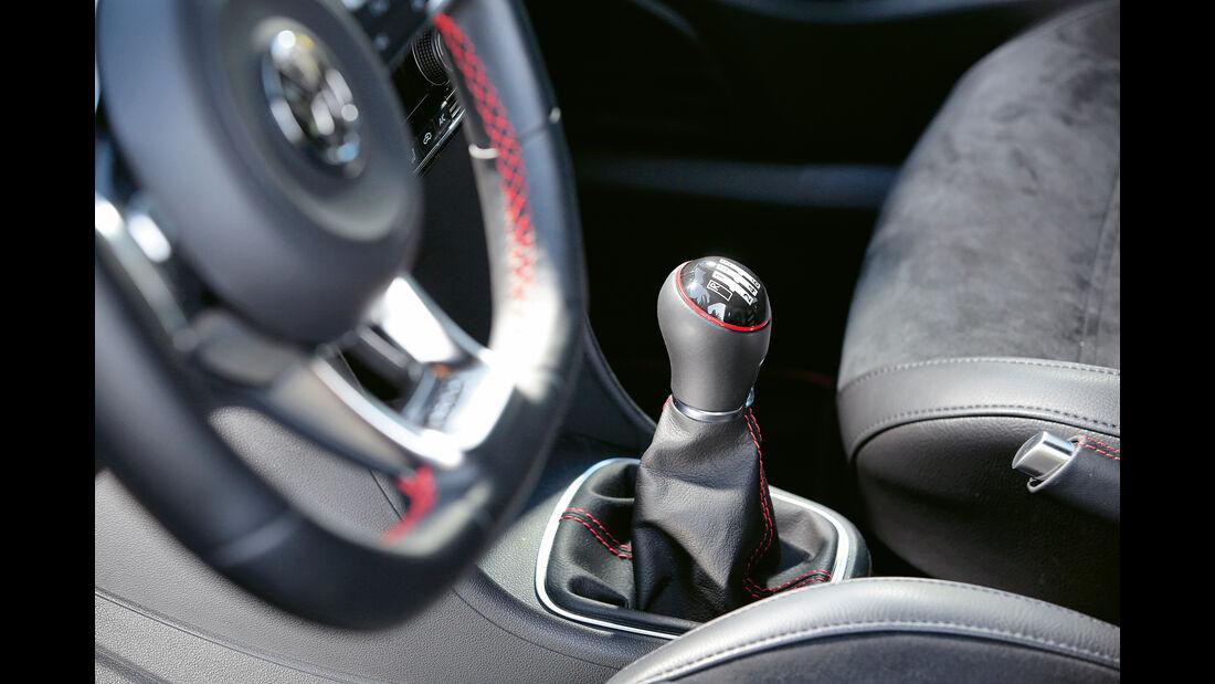 VW Polo GTI, Schalthebel